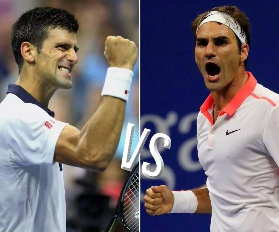 Novak Djokovic i Rodzer Federer