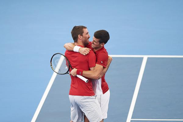 Srbija osvojila prvi ATP Kup u Australiji Djokovic-Troicki-1