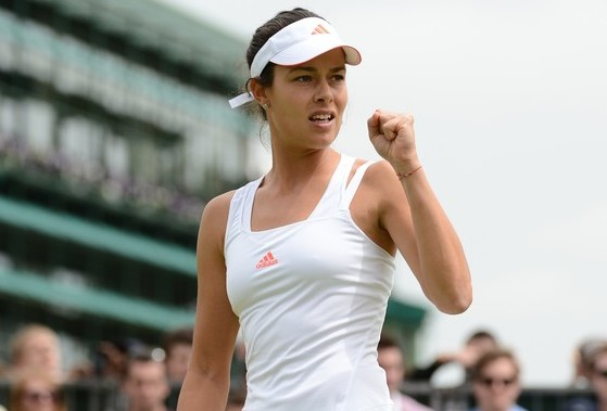 Ana Ivanovic, Vimbldon (Photo credit should read ANDREW YATES/AFP/GettyImages)