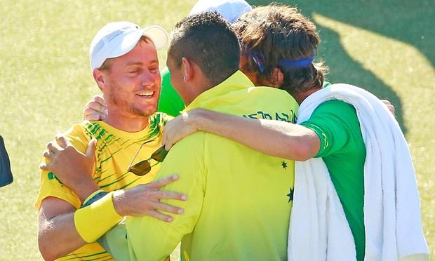 Australia Davis cup team 2015