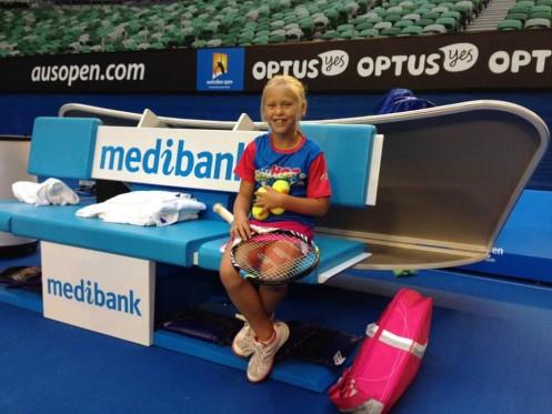 Australijanka - Novakov fan