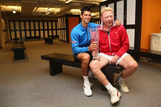 Djokovic i Beker