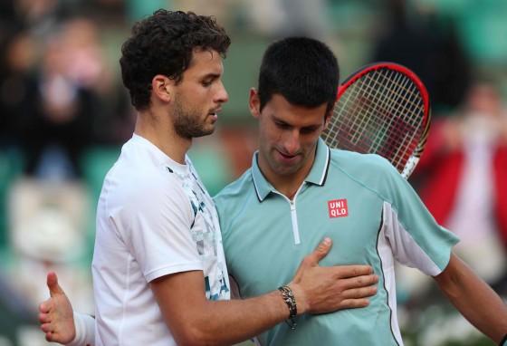 Grigor Dimitrov i Novak Djokovic