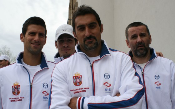 Djokovic, Bozoljac, Zimonjic i Obradovic