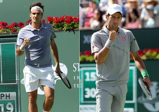 Rodzer Federer i Novak Djokovic