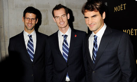 Djokovic, Marej i Federer