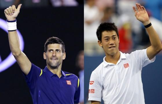 Novak Djokovic i Kei Nisikori