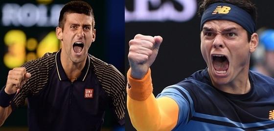 Novak Djokovic i Milos Raonic
