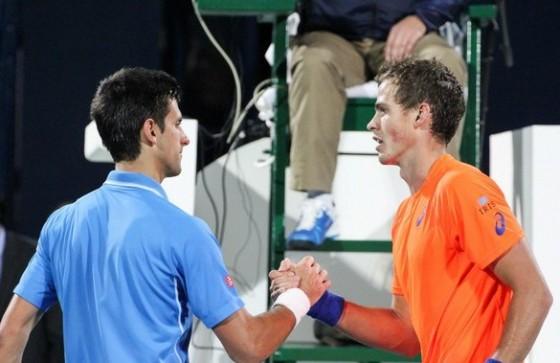 Novak Djokovic i Vasek Pospisil
