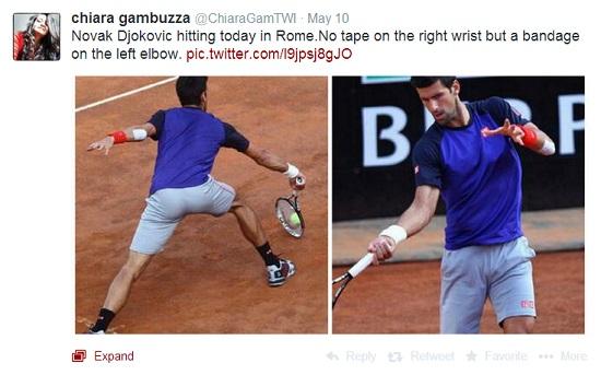 Djokovic trenirao u Rimu 2