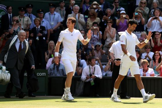 Endi Marej i Novak Djokovic
