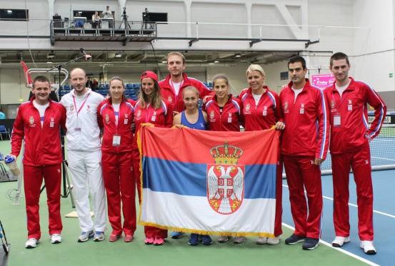 Fed kup tim Srbije