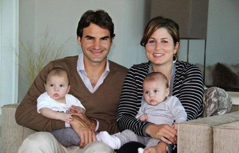 Rodzer i Mirka Federer sa cerkama