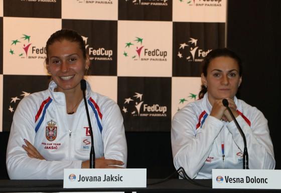 Jovana Jaksic i Vesna Dolonc