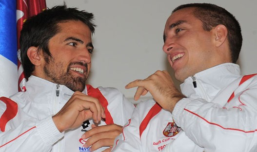 Janko Tipsarevic i Viktor Troicki
