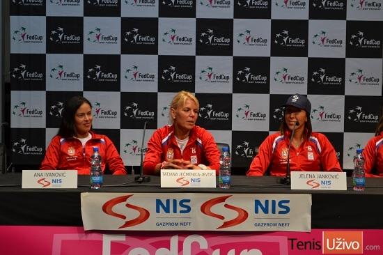Ana Ivanovic, Tatjana Jecmenica, Jelena Jankovic