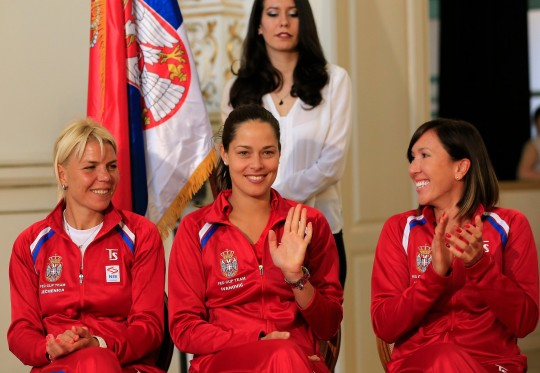 SERBIA v PARAGUAY-FED CUP-WORLD GROUP II PLAY OFF
