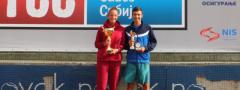 TENISKE NADE (u16): Kristian Juhas i Elena Milovanović pobednici Letnjeg prvenstva Srbije