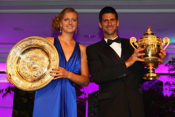 Petra Kvitova i Novak Djokovic