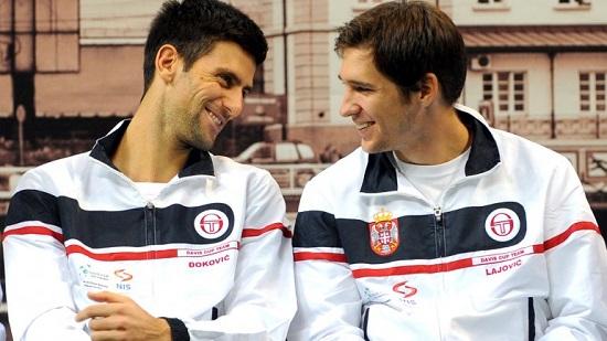 Novak Djokovic i Dusan Lajovic