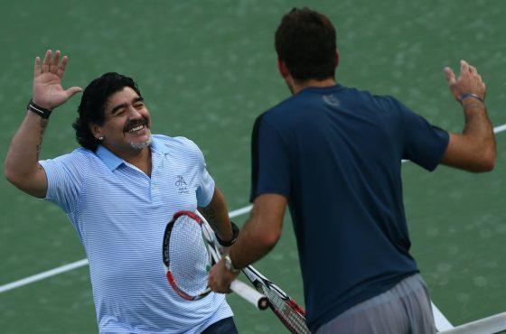 Maradona i Del Potro