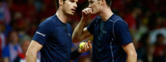 DK: Marej predvodi Britaniju, Švajcarci bez Federera i Vavrinke