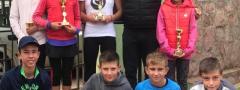 TENISKE NADE (u12): Održani Mastersi Teniskog saveza