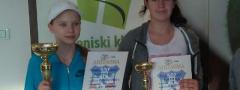TENISKE NADE (u14): Aleksa Gajić i Dorotea Milosavljević najbolji na OP Beograda