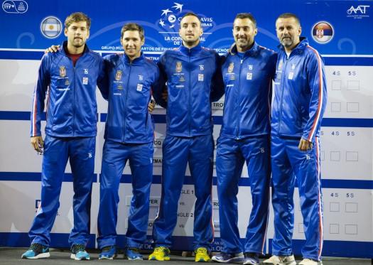 NIS Dejvis kup tim Srbije