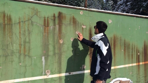 Teren na kome je Đoković naučio da igra tenis nalazi se u veoma lošem stanju