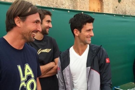 Nole, Goran i Marin