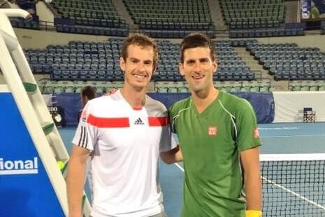 Novak Djokovic i Endi Marej