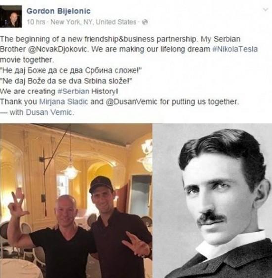 Nole i Tesla