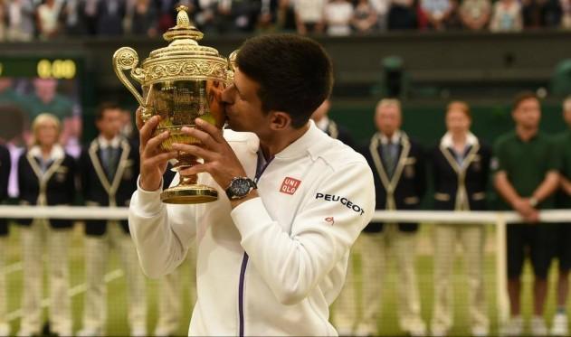 Novak Djokovic Vimbldon 2015