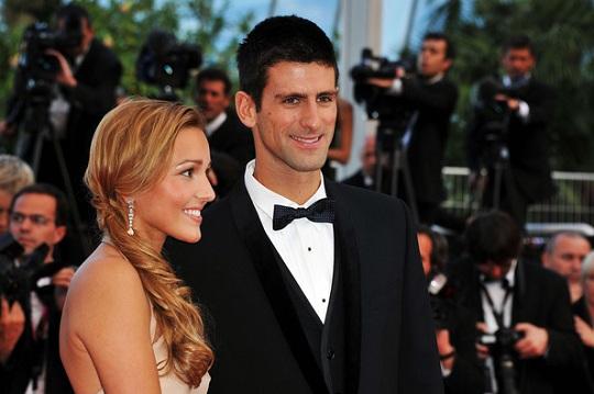 Novak i Jelena Djokovic