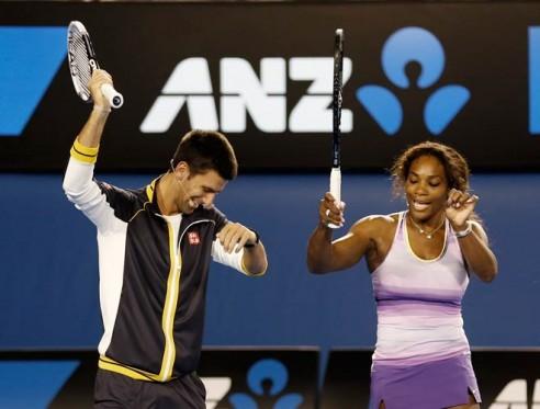 Novak i Serena