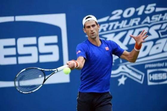 Novak trenira za US open
