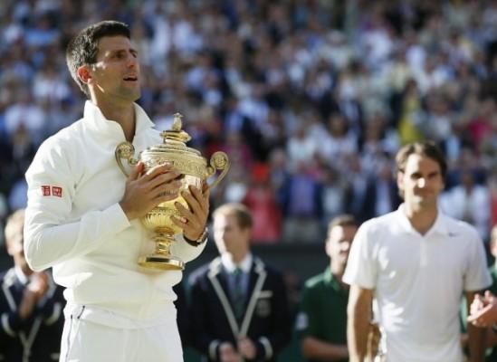 Federer je u finalu prošle godine poražen od Đokoivćia