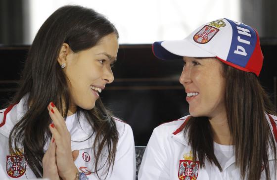 Ana Ivanovic i Jelena Jankovic