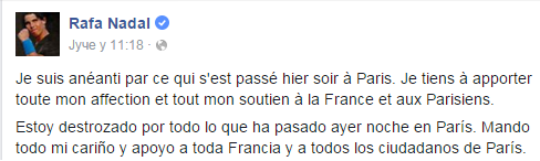 Rafael Nadal - Paris