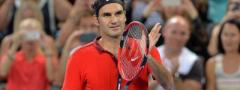 BRIZBEJN: Federer jedva, ispala dva favorita