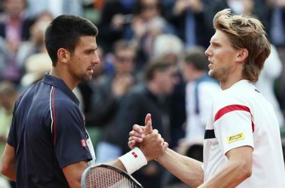 Novak Djokovic i Andreas Sepi