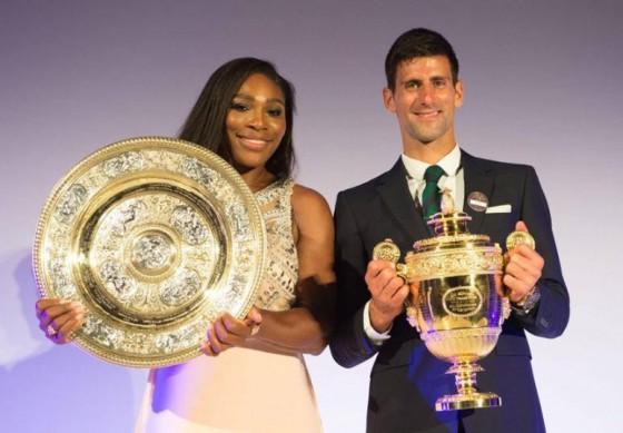 Serena Vilijams i Novak Djokovic