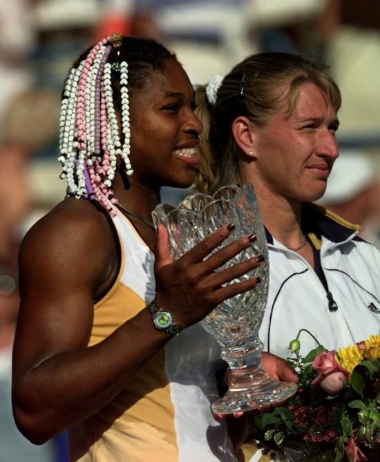 Serena i Štefi u finalu Indijan Velsa 1999. godine