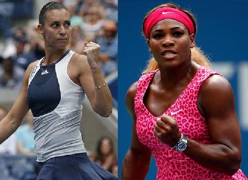 Serena vs Flavia