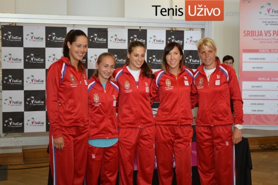 Srbija Fed kup tim