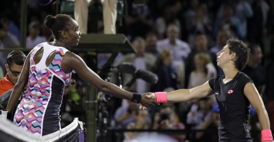 Venus Williams,  Carla Suarez Navarro