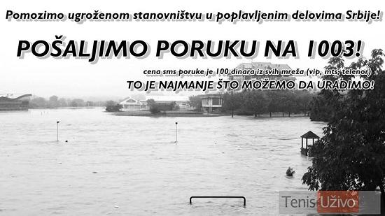 Teniska javnost pomaze ugroenima od poplava 2
