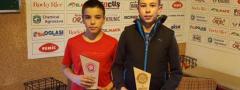 TENISKE NADE (u12): Anastasija Stoiljković i Todor Vukomanović najbolji na OP Niša!