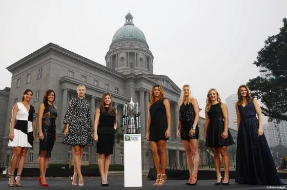 Ucesnice WTA finala u Singapuru